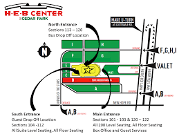 Box Office Information H E B Center