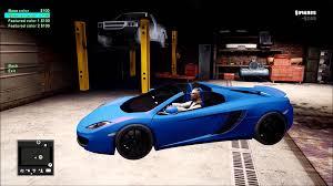 similiar gta vehicle customization keywords gta 4 car customization garage extras bulletproof tires color