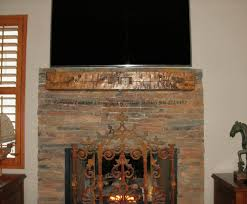 antique wood fireplace mantle
