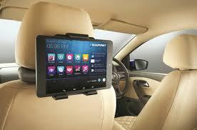 VW Vento Konekt press shot rear entertainment system - Indian ...