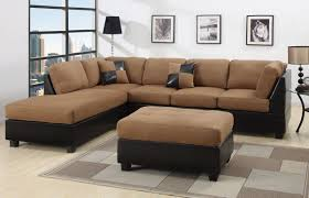 modern brown sofa.  Brown Marvellous Black And Brown Sectional L Shaped Sofa Design Ideas For Living  Room Furniture With Modern Leather Frame Cover Amazing Square  And