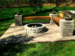 outdoor stone fire pit. Outdoor Fire Pit Charlotte Pavers And Stone Design Your Own Build . Pits A