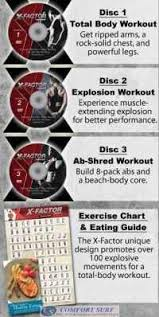Weider X Factor Plus Exercise Chart 2014 Newest Seen On