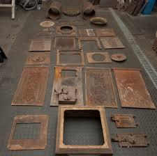 Arbeitsschritte Bei Der Restaurierung Antiker Gusseisenöfen