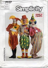 Clown Costume Pattern