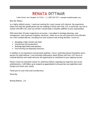 best law cover letter examples livecareer law advice