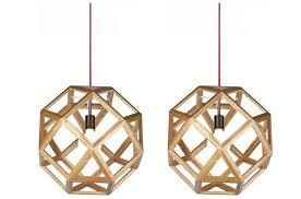 wood pendant lighting. Geometry Wooden Wood Pendant Lighting