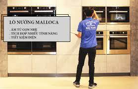 Lò Nướng Âm Tủ Malloca - Showroom Bếp XANH - Giao Nhanh Cực Rẻ