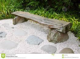 japanese garden furniture. Bench In Japanese Garden Furniture F
