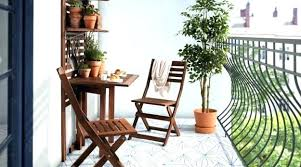patio furniture for small balconies. Small Patio Furniture Balcony Table And Chair Outdoor Decorating Ideas With White Metal . For Balconies T