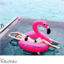 大人お洒落な レディースファッション通販夏新作 フラミンゴ 浮き輪 Ma