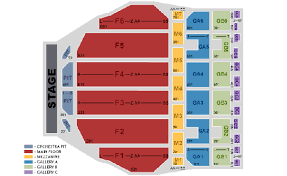 Fox Theater Detroit Interactive Seating Chart The Price Is Right Live 313 Presents