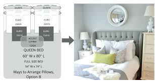 lumbar pillow sizes. Perfect Lumbar Typical Lumbar Pillow Sizes Standard  Insert Twin Bed Arrangements Pillows And Z