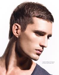 Simple And Classic Short Men S Hairstyle