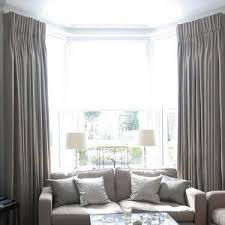 Stunning Curtain Solutions For Bay Windows Drapery Design Window