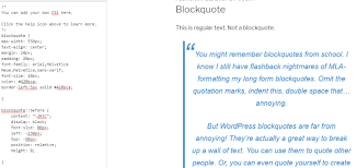 How To Quote A Quote Mesmerizing How To Style Blockquotes In WordPress Using CSS