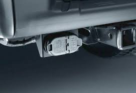trailer hitch wiring harness with reverse park aid the official rh accessories ford com towing wiring