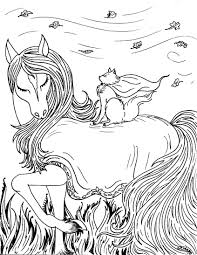 Adult Coloring Pages Horses To Print Free Coloring Books