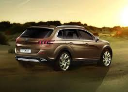 2018 peugeot 3008 price. contemporary 2018 2018 peugeot 3008 rear in peugeot price s