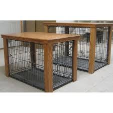 designer dog crate furniture ruffhaus luxury wooden. Wooden Table Dog Crate Cover #DogCrate #dogroom Designer Furniture Ruffhaus Luxury