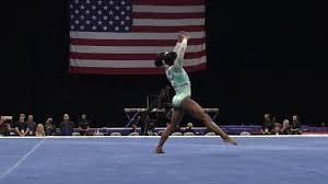 simone biles floor exercise 2018 u s gymnastics chionships senior women day 2