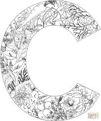 easily letter c coloring sheet professional scarce sheets pages best of