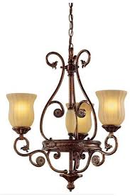 hampton bay freemont collection 3 light hanging antique bronze chandelier with