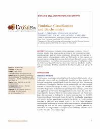 fimbriae classification and biochemistry preview this reference work article