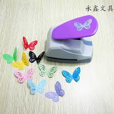 Extra Large Flower Paper Punch Us 15 22 12 Off Creative Hollow Butterfly Diy Paper Punch For Card Scrapbooking Embossing Flower Border Embossing Machine School Supplies In Die Cut