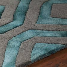 425 79 fran hand tufted area rug teal grey rugs usa