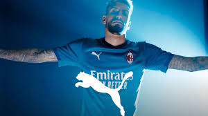 The home, away, and third dls 19 kits can be imported in a simple the fly emirates is once again the main sponsor of associazione calcio milan. Pictures Milan Unveil 2020 21 Third Kit Rossoneri Blog Ac Milan News