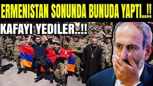 Ermenistan sonunda bunuda yaptı! Gözlerinize inanamayacaksınız! (Azerbaycan  Türkiye Son Dakika ) - YouTube