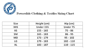 Md Size Chart Powerslide Women Speed Skating Racing Suit Size S Only