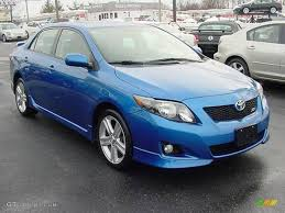 2009 Blue Streak Metallic Toyota Corolla XRS #23856167 | GTCarLot ...