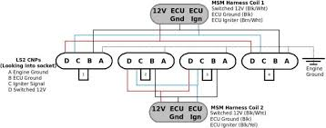 lsx coil th miata turbo forum boost cars acquire cats here s the wasted spark msm wiring diagram i whipped up last night does not include the 1 0uf capacitors since i m hoping to install my d514as on the