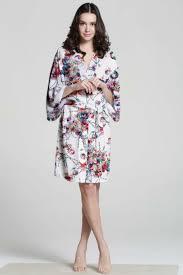plus size silk robe f07187 white cotton robe floral silk robe plus size bath robe