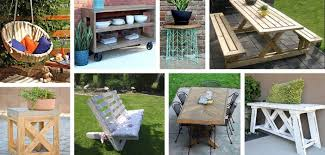 45 best diy outdoor furniture projects