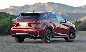 2018 lexus 350 f sport. beautiful sport in terms of cargo volume the lexus rx competes one class down thatu0027s  price to be paid for rakish styling and 2018 lexus 350 f sport