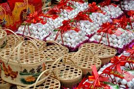 Small Picture Pengzhou China Chinese New Year Gift Egg Baskets Stock