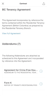bc residential tenancy agreement