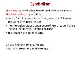 analysis of the necklace 10 symbolism the necklace