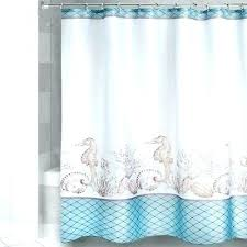nautical fabric shower curtains beach fabric shower curtain seahorse s fabric shower curtain coastal beach nautical