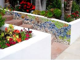 Small Picture 61 best Mosaic Garden wall ideas images on Pinterest Mosaic