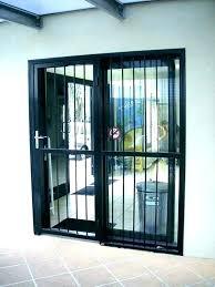 security patio screen doors used security screen doors wrought iron sliding patio doors used door security