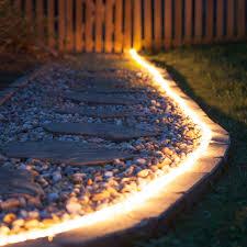 3 8 led rope lighting 120v. walkways illuminated with rope light 3 8 led lighting 120v e