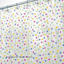 29 bright colored shower curtains bright colored shower curtains unique mdesign polka dot shower curtain