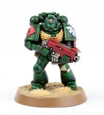 in today post i share with your a complete photo tutorial guide to paint the dark angel tactical marine pictured above just in time