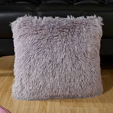 Online Shop <b>BeddingOutlet</b> Faux Fur <b>Cushion</b> Cover Soft Plush ...