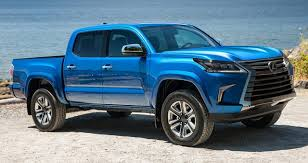 Lexus Pickup Truck Concept Review - 2020 Truck