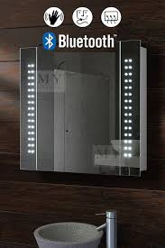 Galactic Illuminated LED Bluetooth Bathroom Mirror Cabinet my